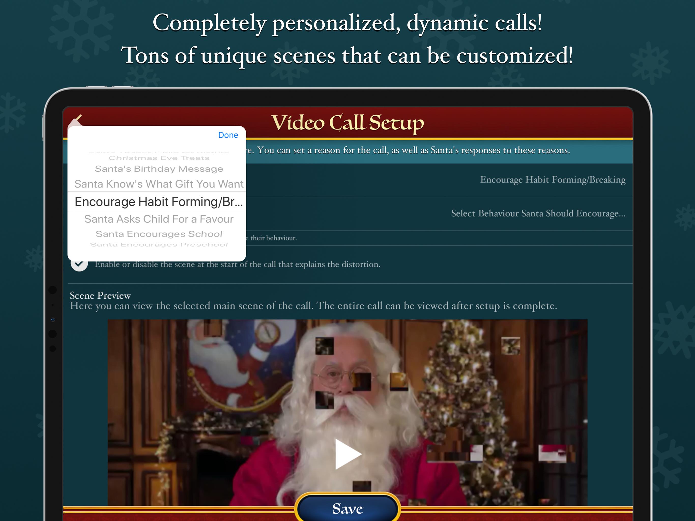 Santa Video Call and Tracker – North Pole Command Center